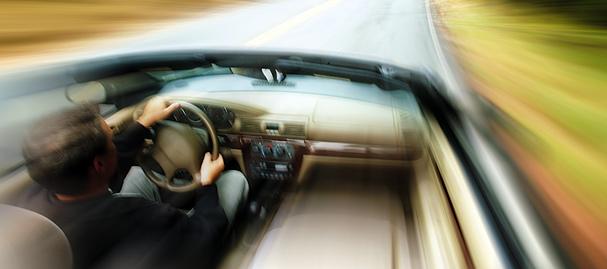 Conduite voiture rapide