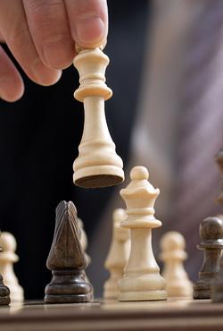 pièce d'échecs déplacée