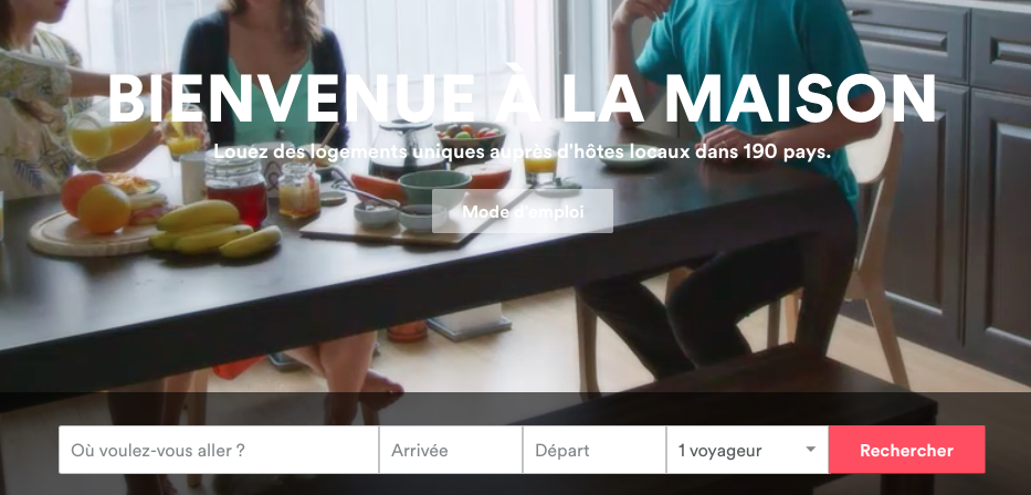 Capture d'Airbnb
