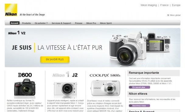 Capture d'une page internet