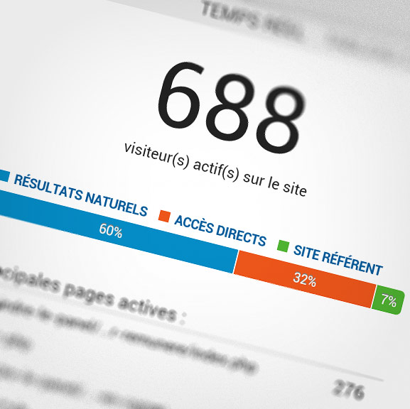 Capture d'écran de Google Analytics