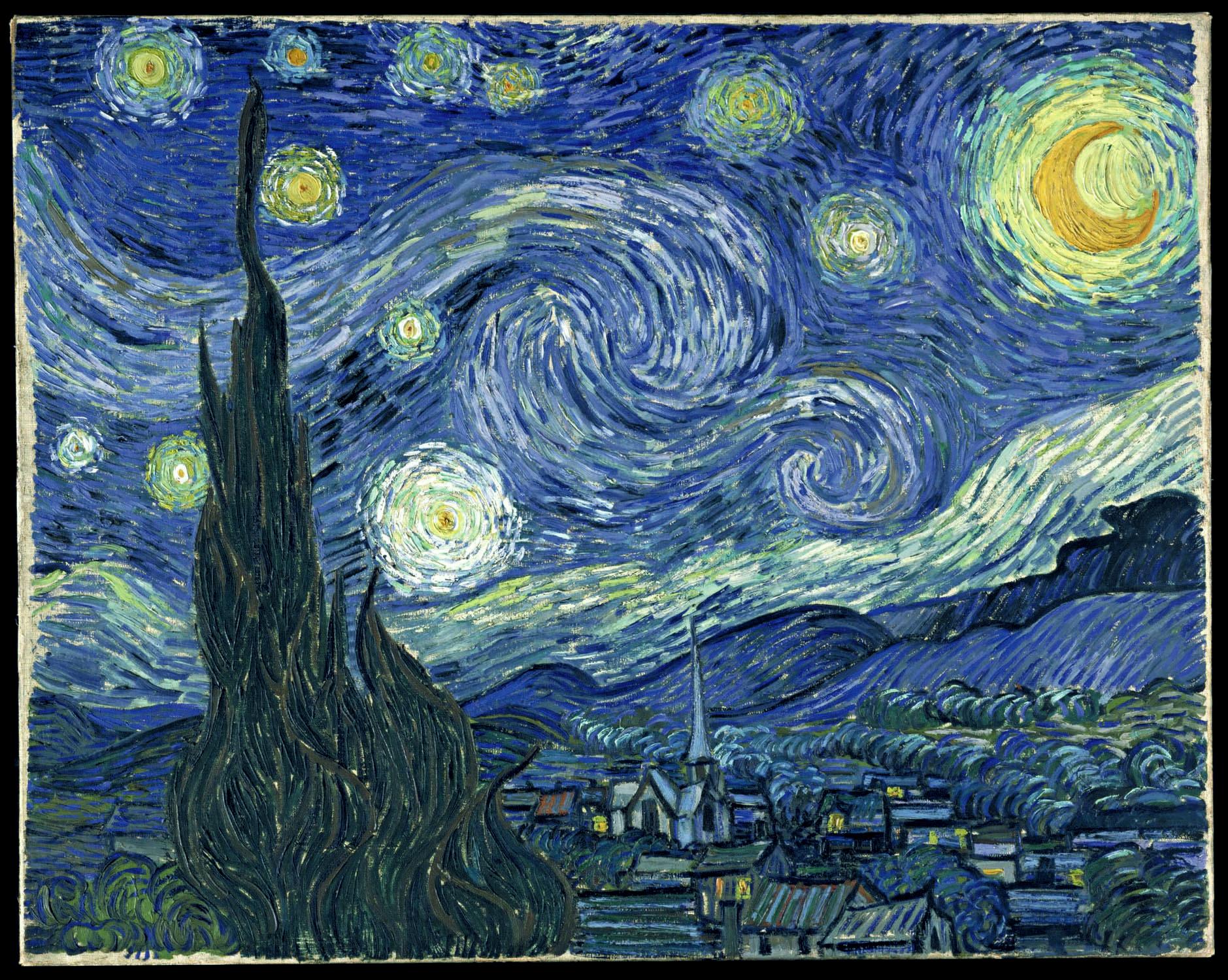 vangogh : Nuit Étoilée