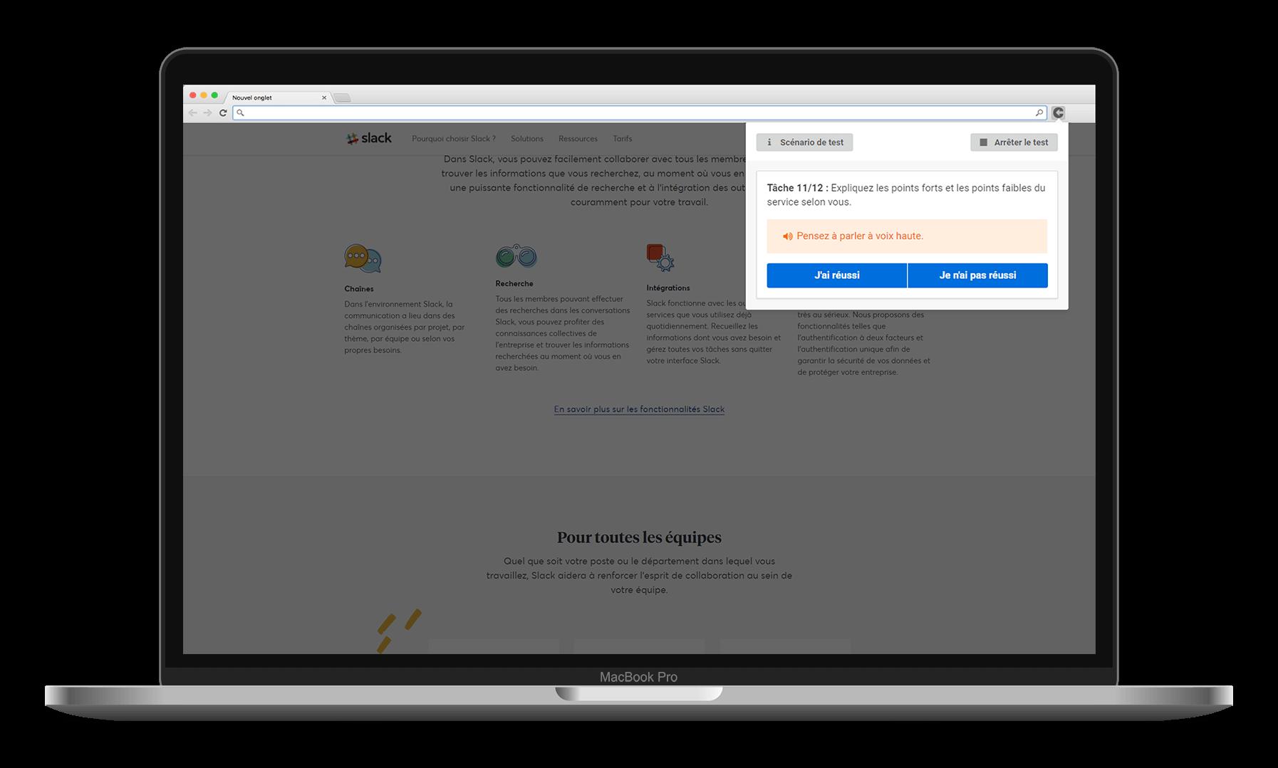 Sur toutes vos interfaces digitales - Desktop