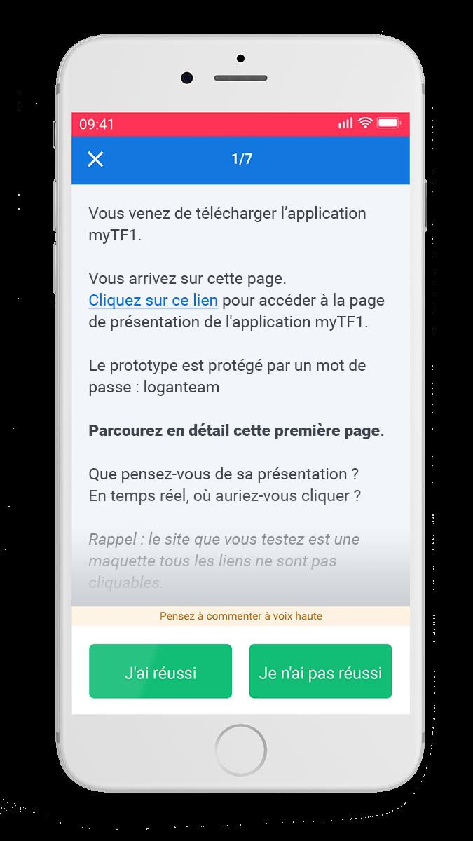 Sur toutes vos interfaces digitales - iOS