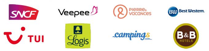 Logos partenaire travel & toursime