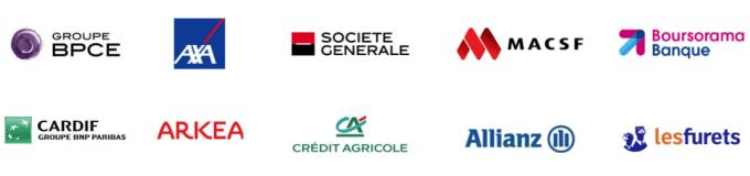 Logos banque et assurance