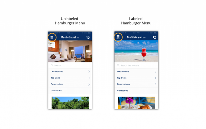 Mobile-Travel-hamburger-menu