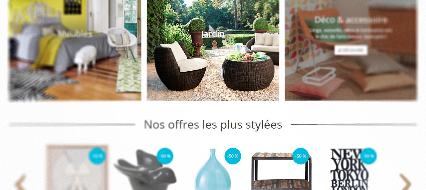 retour d 39 exp rience maisons du monde utiliser les user. Black Bedroom Furniture Sets. Home Design Ideas