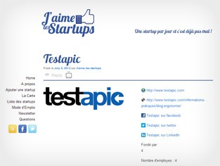 J'aime Les Startups