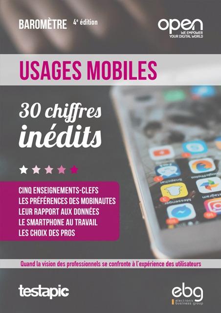 Baromètre Usages Mobiles 2019